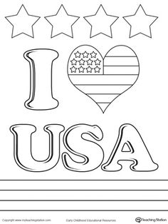 eagle flag coloring page for kids kids coloring pages pinterest flags eagle and craft