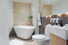 Modern Compact Bathroom Design