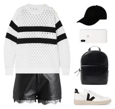"""""""Bold Stripes"""" by mariposa-fashion-21 ❤ liked on Polyvore featuring even&odd, Sonia Rykiel, Veja and STONE ISLAND"""