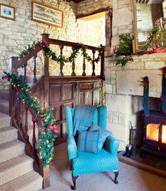 christmas decorating - Kronleuchterkugeln