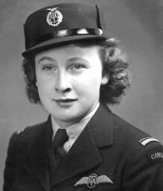 Violet Milstead of Toronto was a ferry pilot, one of the few Canadian women who served with the Air Transport Auxiliary in Britain during World War Two. Ww2 Women, Military Women, Female Pilot, Female Soldier, Pat Patterson, Aviation Careers, Women In History, Ww2 History, Military History