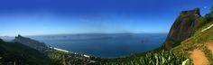 A Pedra da Gávea é um monólito de gnaisse cujo ponto culminante situa-se na Barra da Tijuca #RiodeJaneiro