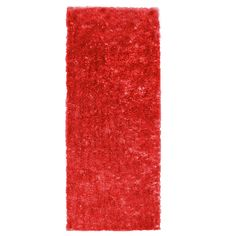 Metro Silk Red Area Rug