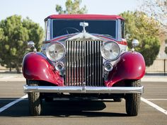 1937 Rolls-Royce HP Wingham Cabriolet by Martin Walter Rolls Royce, Antique Cars, Face, Vintage Cars, The Face, Faces, Facial