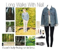 """""""Long Walks With Niall (Requested)"""" by one-direction-outfitsxxx ❤ liked on Polyvore featuring STELLA McCARTNEY, Yves Saint Laurent, Converse, Forever 21, Rolex, Topshop, Vans and Levi's"""