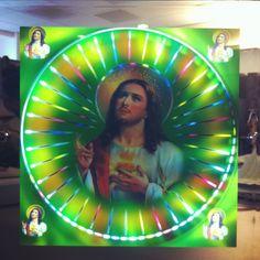 Neon Jesus  http://katirldotcom.files.wordpress.com/2011/12/photo-1.jpg