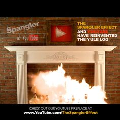 By Far The Coolest Yule Log Video Ever | Steve Spangler Science | The Spangler Effect | #NowCasting #YouTubeFireplace
