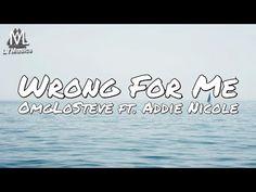 OmgLoSteve - Wrong For Me ft. Addie Nicole (Lyrics) - YouTube Lyrics, Craft, Youtube, Creative Crafts, Crafting, Song Lyrics, Handmade, Do It Yourself, Handarbeit