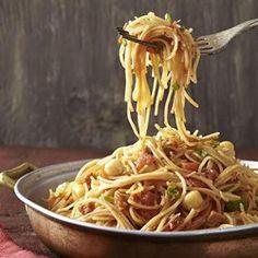 Chickpea & Chorizo Fideos - EatingWell.com