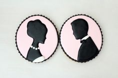 Cameo Cookie How-To | perf for a wedding favor or maybe to jazz up the place settings.
