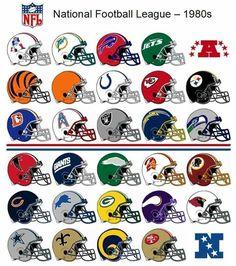 All Nfl Teams, Pro Football Teams, Football Humor, Football Art, Nfl Football Helmets, Raiders Football, American Football Memes, Nfl Uniforms, Nfl History