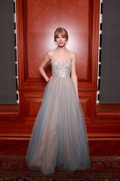 Taylor Swift Musician Taylor Swift attends the annual Nashville Symphony Ball at the Schermerhorn Symphony Center on December 10, 2011 in Na...