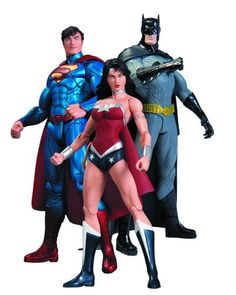 DC The New 52 Trinity War Action Figure Box Set