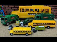 Toys for Kids, School Buses, Garbage Trucks, Disney Cars Video Toddler Videos, Kids Videos, Toy School Bus, Garbage Truck, Toy Trucks, Car Videos, Disney Cars, Guinea Pigs, Kids Toys