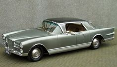 1958 Facel Vega Excellence Maintenance of old vehicles: the material for new cogs/casters/gears/pads could be cast polyamide which I (Cast polyamide) can produce Classic Sports Cars, Classic Cars, Vintage Cars, Antique Cars, Vegas, Cabriolet, Peugeot, France, Fiat 500