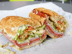 A Sandwich a Day: Italian Sub at Brad's Cafe