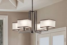 Modern chandelier from Cardello  Electric Supply & Lighting. #housetrends http://www.cardellolighting.com