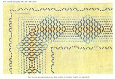 alinhavando o tempo: Mais vagonite Huck Towels, Swedish Weaving Patterns, Swedish Embroidery, Monks Cloth, Weaving Designs, Chicken Scratch, Vintage Patterns, Needlework, Cross Stitch