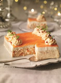 it was the salmon mousse....
