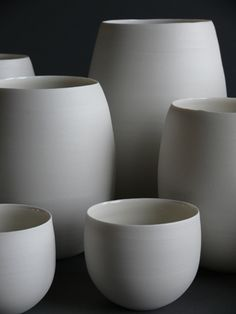 Porcelain pottery by American artist Lilith Rockett.