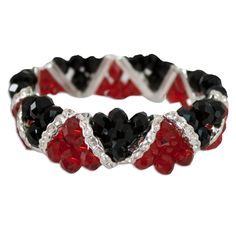 South Carolina Gamecock Double Strand Flex Bracelet #gamecocks