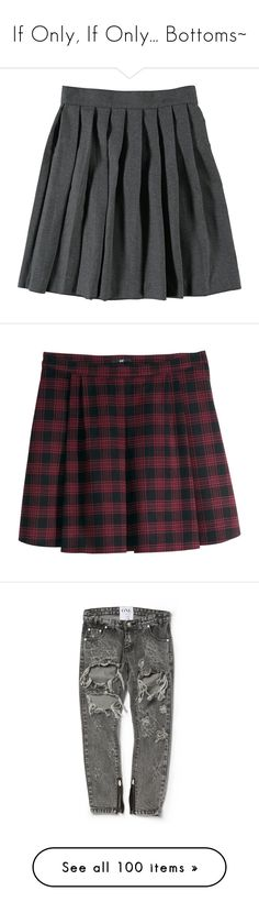 """If Only, If Only... Bottoms~"" by bvbarmy-jaseyrae ❤ liked on Polyvore featuring skirts, bottoms, clothing - skirts, clothes - skirts, mini skirts, saias, pleated circle skirt, pleated skirts, short pleated skirt and h&m mini skirt"