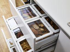KRUS opbergdoos | #IKEA #DagRommel #keuken #pot #transparant #opberger #doos