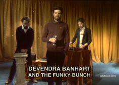 Devendra Banhart and the Funky Bunch on The Eric Andre Show