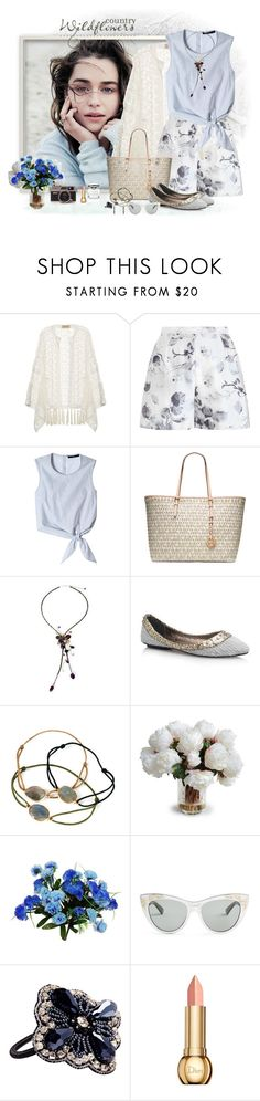 """Forever young"" by akhesa10 ❤ liked on Polyvore featuring ADRIANA DEGREAS, Zimmermann, TIBI, MICHAEL Michael Kors, NOVICA, LeiVanKash, New Growth Designs, Gucci, Mimco and Christian Dior"