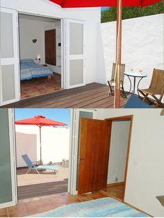 Sleeping room 2 - terrace  / vacation rental - Ferienhaus - vakantiehuis - maison de vacances BODEGA