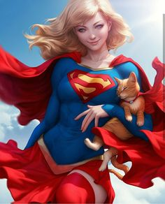 Supergirl, Artgerm.