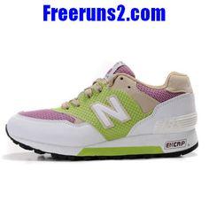 best sneakers c5c76 09c9d Achat Vente New Balance CM577TWG lightGreen Rose blanc Chaussures Femmes NewBalance574Femmes.com  Nb