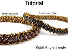 Beading Tutorial Pattern Bracelet Tubular by SimpleBeadPatterns