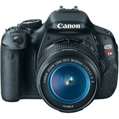 Canon EOS Rebel T3i 18 MP CMOS Digital SLR Camera and DIGIC 4 Imaging  Body + 18-55mm lens  by Canon  4.6 out of 5 stars  See all reviews (436 customer reviews)  Price: 	$584.10