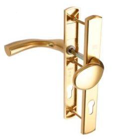 D76 uPVC door handle with a snib latch. | uPVC Door Handles | Pinterest