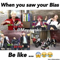 My literal reaction seeing BTS