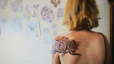 Sketch Style tattoo wallpaper