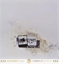 Une petite page toute grise avec une photo prise à Paris... sur le parvis de…