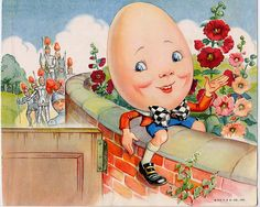 Humpty Dumpty Vintage Ephemera From 1953