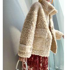 Teddy Coat, Blazer Jacket, Mantel, Knitwear, Style Inspiration, Womens Fashion, Casual, Fur Coat, Clothes