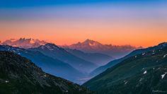 The cooling down Dusk, Mount Everest, Cool Photos, Sunrise, Mountains, Travel, Google, Viajes, Destinations