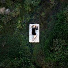 Die Bilder zeigen Verletzlichkeit, Einsamkeit...