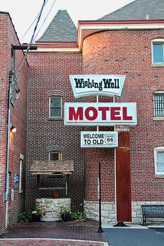 Wishing Well Motel, Route 66 - Pontiac, Illinois