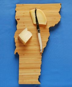 Vermont State Cutting Board: AHeirloom on Etsy.com