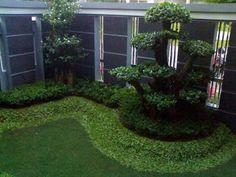 taman rumah minimalis dengan ruang terbatas http www