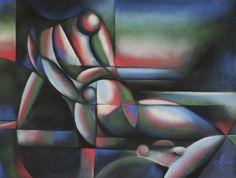 Roundism (singularity) - 05-06-17 (for sale). Pastel drawing on Canson Mi-Teintes Touch paper (50 x 65 cm) Sales info: info@corneakkers.com See more: www.corneakkers.com Follow me at twitter: @Corne_Akkers #Corné Akkers #Corne #Corné #Akkers #kunst #nude #cubism #cubisme ##kunst #藝術 #アート #искусство #արվեստ #קונסט #nghệ thuật #فن #ხელოვნება