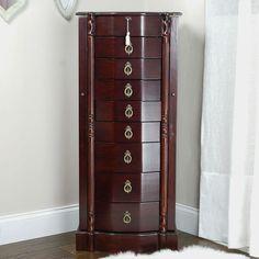 Bastille Jewelry Armoire - http://delanico.com/jewelry-armoires/bastille-jewelry-armoire-604950934/