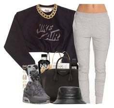 """""""Read this D and Comment tho"""" by nasiaswaggedout ❤ liked on Polyvore featuring NIKE, Jennifer Meyer Jewelry, ASOS, Calvin Klein, Casio, Givenchy, SELECTED, Accessorize, women's clothing and women"""