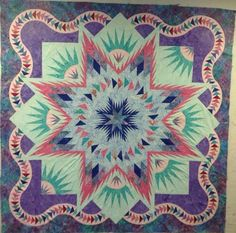 Glacier Star, Quiltworx.com, Made by Diane Muir