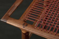 Lace Bench Seat | Handcrafted by Sam Maloof Woodworker, Inc.… | Flickr